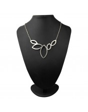 Leafy Design Necklace